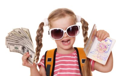 Why I Let My Kids Save Up Their Own Travel Spending Money