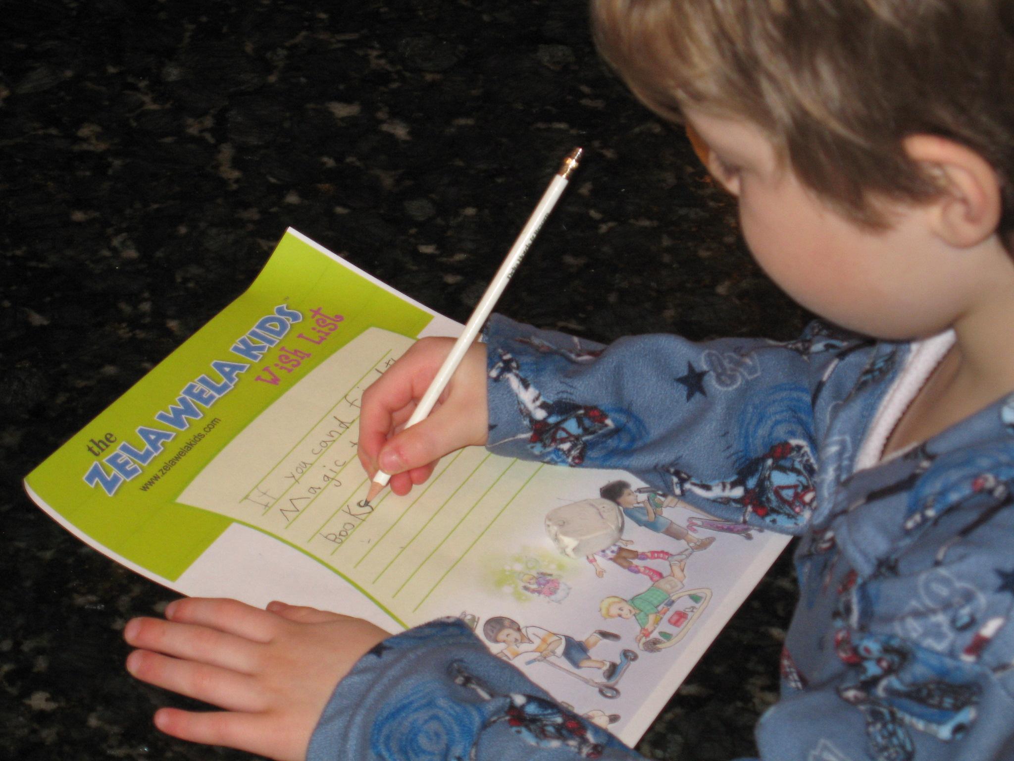 Zela Wela Kids Wish List