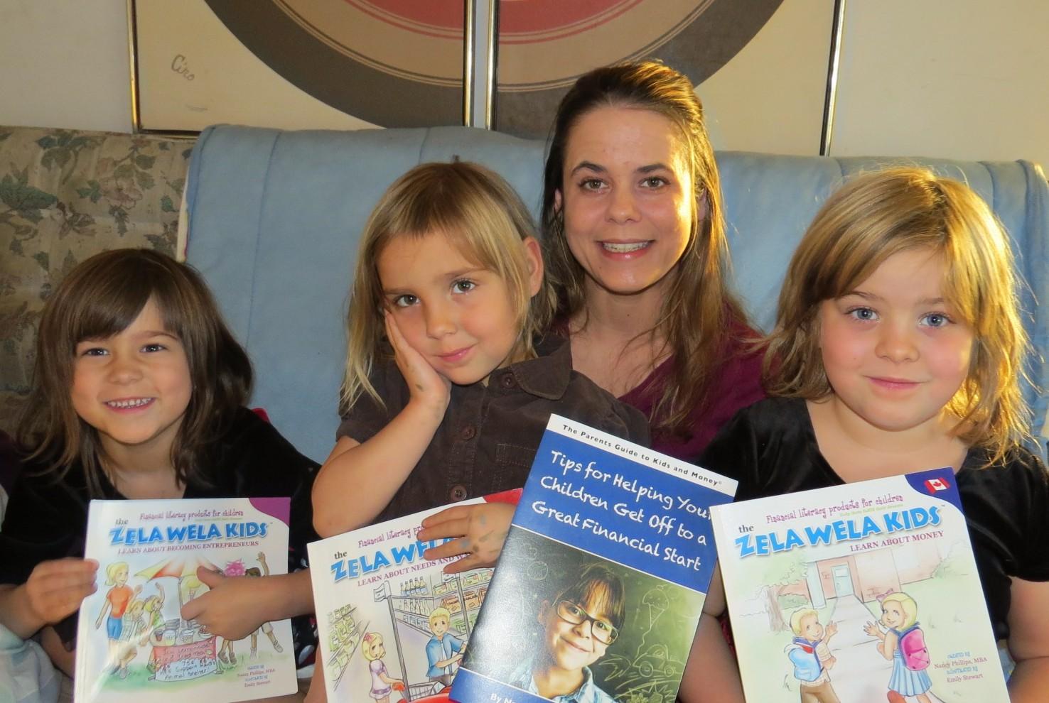 Deannie and her Zela Wela Kids