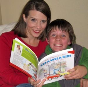 Jon and Sarah with the Zela Wela Kids Needs and Wants
